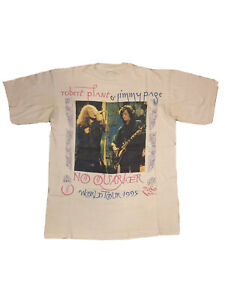 Rare Vintage 1995 Led Zeppelin Shirt Jimmy Page Robert Plant Nirvana Soundgarden
