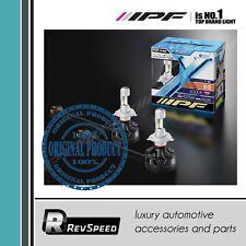 IPF Japan H4 bi LED Headlight Bulbs 6500K 20W Universal 2 pcs Set New 341HLB