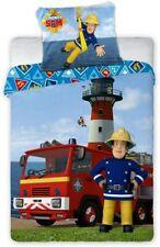 Feuerwehrmann Sam Kinderbettwäsche Babybettwäsche Bettwäsche 100x135 cm + 40x60