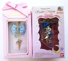 Sailor Moon - Ribbon Charm & Twinkle Dolly LOT - Part 1 Mercury Henshin Pen