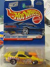 Hot Wheels Pro Stock Firebird 2000 First Editions Yellow
