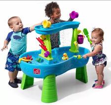 Kids Water Table Step2 Rain Showers Splash Pond Water Table Play Set Games 13Pc
