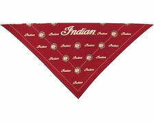 NEW INDIAN MOTORCYCLE RIDERS BANDANA FULL SIZED RED LOGO HEADDRESS 2863846