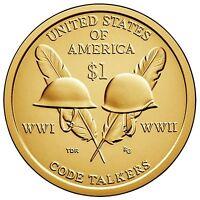2016 P & D Native American (Sacagawea) Dollar Gem Bu from Mint rolls In Stock