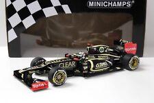 1:18 Minichamps Lotus F1 Renault E20 Raikkonen 2012 NEW bei PREMIUM-MODELCARS