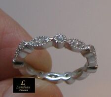 1.2 ct White Diamond Silver Promise Ring