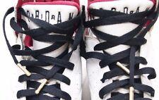 "54"" Premium BLACK Flat shoe Lace with GOLD TIP Jordan LBJ KD NMD YEEZY BOOST"