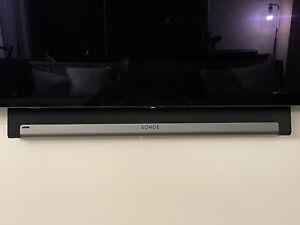 Sonos Playbar Soundbar with New Wall Mount Kit - Black
