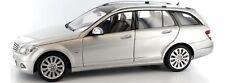 Mercedes-Benz C-Klasse T-Modell S204 Elegance Silver AUTOart 1:18 76266 NEW
