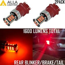 Alla Lighting 3157K LED Brake/Tail/Rear Turn Signal Blinker Light Bulb Lamp Red