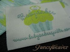 600pcs Woven Label / Personalized / Custom / Clothing Label / Free Shipping