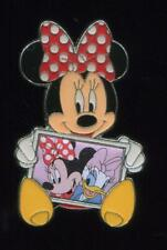 HKDL Hong Kong Minnie Mouse Holding Picture Disney Pin 101028