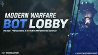 [PC/PS4/XBONE] COD MW CALL OF DUTY MODERN WARFARE FAST LEVELING BOOSTING LOBBY!