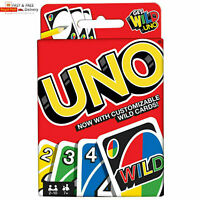 UNO CARD GAME With WILD CARDS Matte Latest Version Family Fun UK SELLER