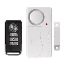 Door Window Entry Security ABS Wireless Remote Control Door Sensor Alarm New