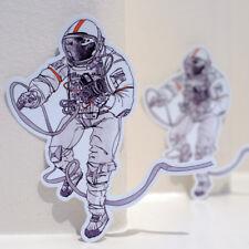"NASA Astronaut Hasselblad Camera Interstellar 4x3"" Decal Sticker #3520"