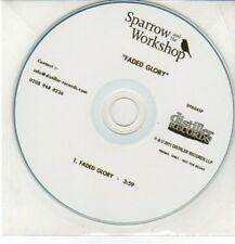 (DD152) Sparrow & The Workshop, Faded Glory - 2011 DJ CD