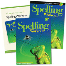 3rd Grade 3 MCP Spelling Workout Level C Homeschooling Kit Homeschool Curriculum