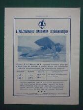 6/1932 PUB PZL P.II MERCURY IV A ORLINSKI POLAND VARSOVIE POLOGNE ORIGINAL AD