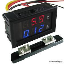 Dc300V50A Dual Led Digital Combo Voltmeter Ammeter Power Dc4.5~30V + 50A Shunt