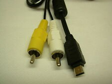 AV Cable For Olympus E-30 E-450 E-500 031
