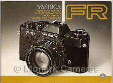 Yashica FRII Camera Manual, More User Guides & Instruction Books Listed