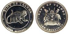100 SHILLINGS 2004 SCIMMIA MONKEY (TIPO 4) UGANDA Fdc Unc §212