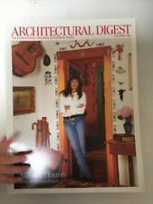 Architectural Digest Magazine October 2005 Angelica Houston