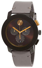 Movado Men's Bold - 3600445 Brown Tr90stainless Steel One Size Watch