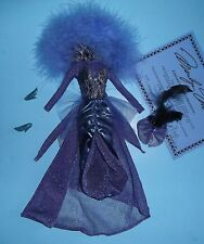 SPECTACULAR SHOWGIRL STYLE MARILYN WEAR HALLOWEEN BARBIE SIZE FREE SHIPPING