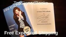 SIGNED Scrappy Little Nobody by Anna Kendrick with event photos, new