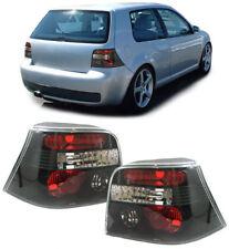 Klarglas Rückleuchten schwarz für VW Golf 4 97-03