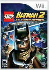 LEGO Batman 2: DC Super Heroes (Nintendo Wii, 2012) Superhero Video Game