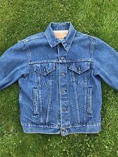 Vintage Levis Denim Jacket 70506 size 40 Made in USA Jean Trucker VTG