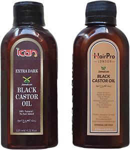 100%  jamaican black castor oil original, extra dark *same result as sunny isle*