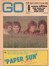 Traffic Stevie Winwood The Bee Gees GO Magazine WMCA Aug 25 1967