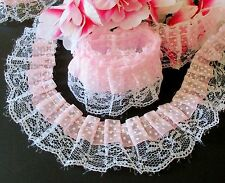 Amazing ruffled lace 1 3/4 inch wide - price for 1 yard
