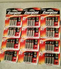 Lot of 48 batteries Energizer MAX Alkaline AAA -    Expires 12/2026