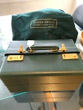 NWT TANNER KROLLE LONDON GREEN TEXTURED LEATHER LUXURY JEWELRY TRAVEL CASE BOX