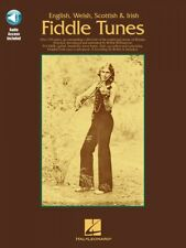 English Welsh Scottish & Irish Fiddle Tunes Book and Audio New 014010363