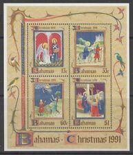 BAHAMAS SGMS923 1991 CHRISTMAS MNH