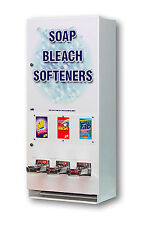 SOAP COIN OP VENDING MACHINE LAUNDRY SUPPLY SOAP BLEACH DRYER SHEETS