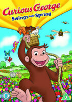 Curious George: Swings Into Spring DVD (2013) Scott Heming - New and Sealed