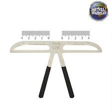 Regla Plantilla De Ceja De Acero microblading-spmu guía de medición para Cejas herramienta