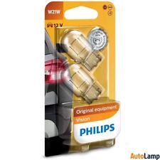 PHILIPS W21W Vision Halogen Interior Signal 12V 21W W3x16d 12065B2 Twin