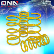 "FOR 95-99 NISSAN MAXIMA 2"" DROP SUSPENSION YELLOW LOWERING SPRING 275F/225R"