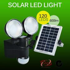 120 LED SOLAR POWER RECHARGEABLE SENSOR SECURITY LIGHT OUTDOOR GARDEN PIR MOTION