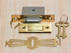 REPLACEMENT LOCK FOR ROLL TOP DESK SKELETON KEYS  SQUARE CORNERS