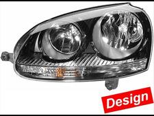 Hella Scheinwerfer Set schwarz VW Golf 5 V