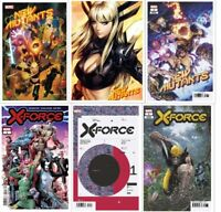 New Mutants #1 + X-Force #1 Main Cover + Variants Sold individually Artgerm